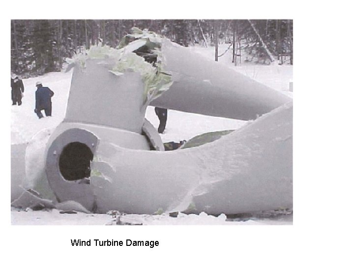 Wind Turbine Damage