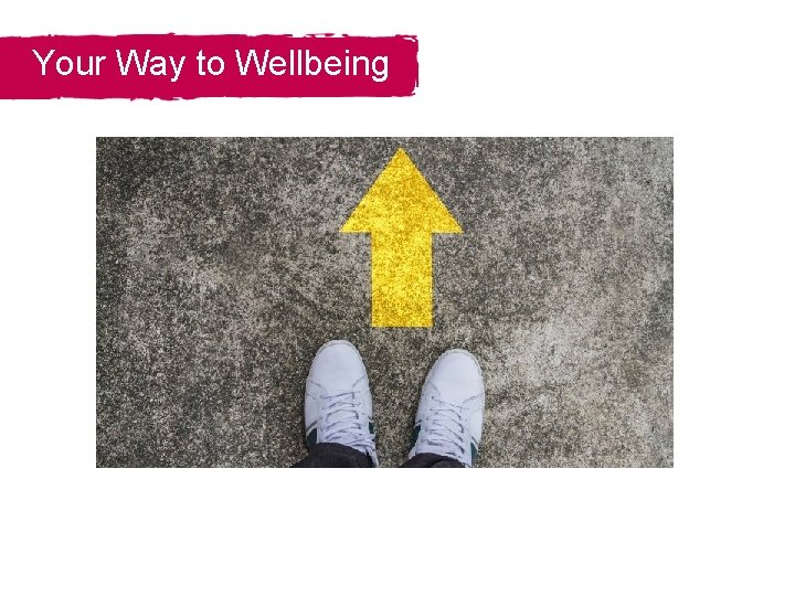 Your Way to Wellbeing Section Title