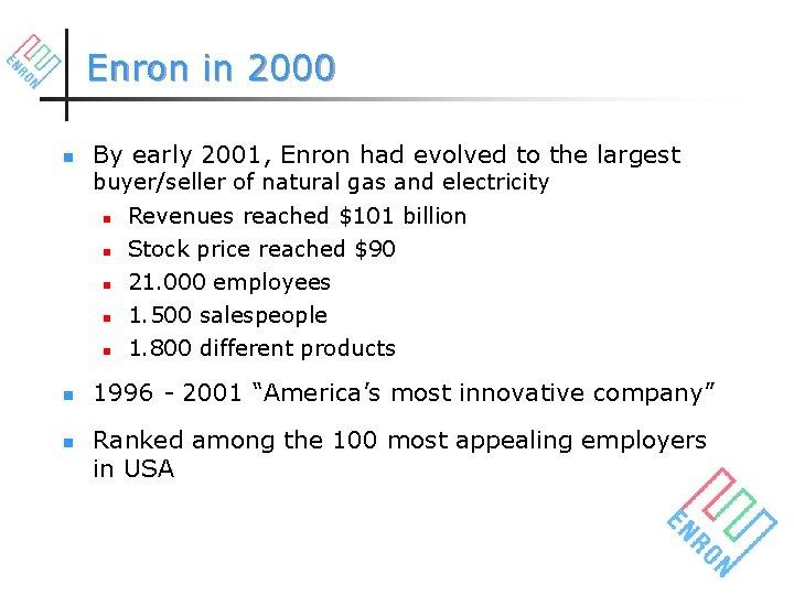 enron employee stock options
