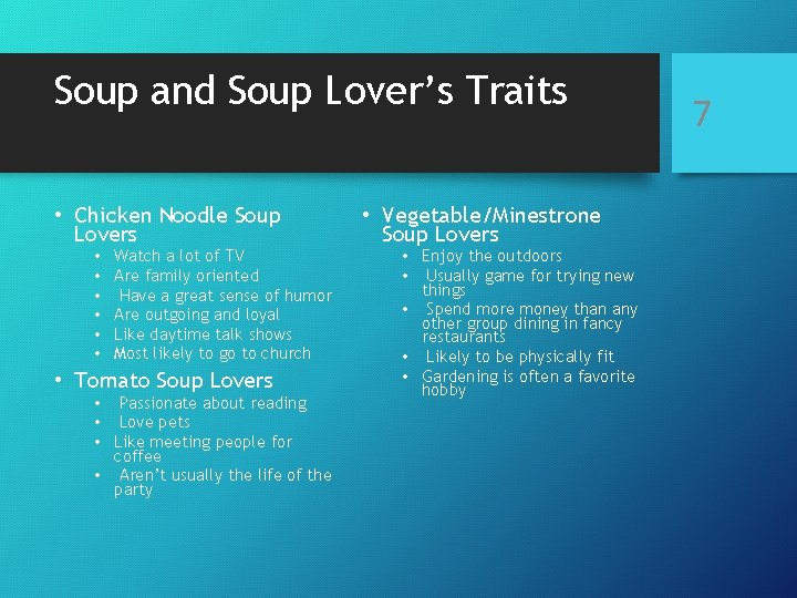 Soup and Soup Lover's Traits • Chicken Noodle Soup Lovers • • • Watch