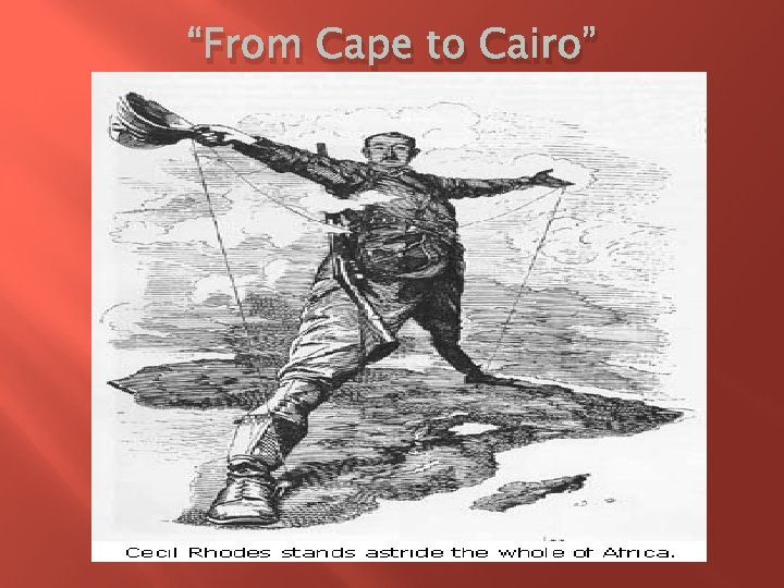 """""""From Cape to Cairo"""""""