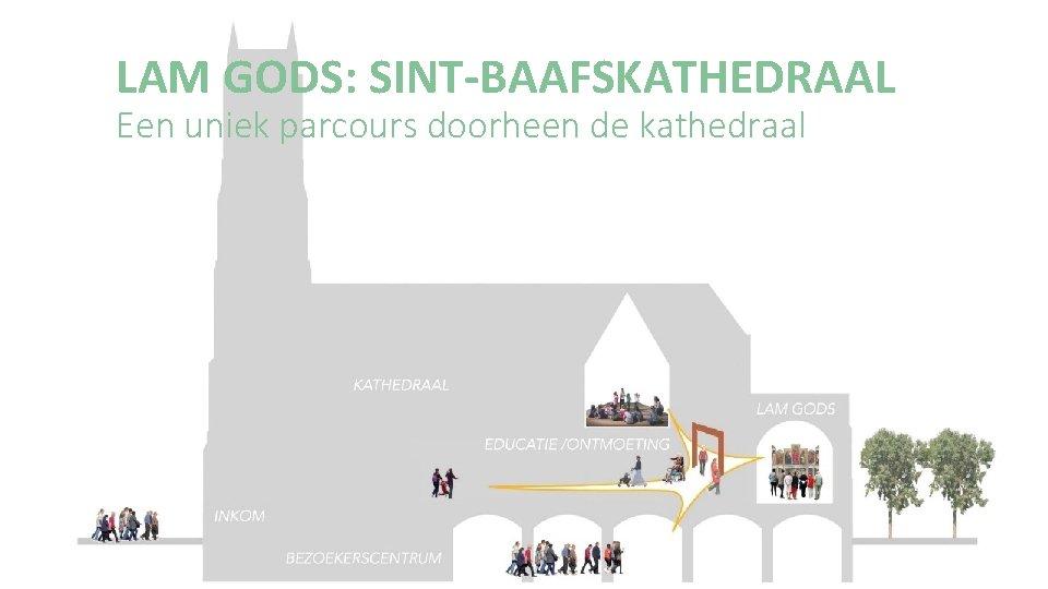 LAM GODS: SINT-BAAFSKATHEDRAAL Een uniek parcours doorheen de kathedraal