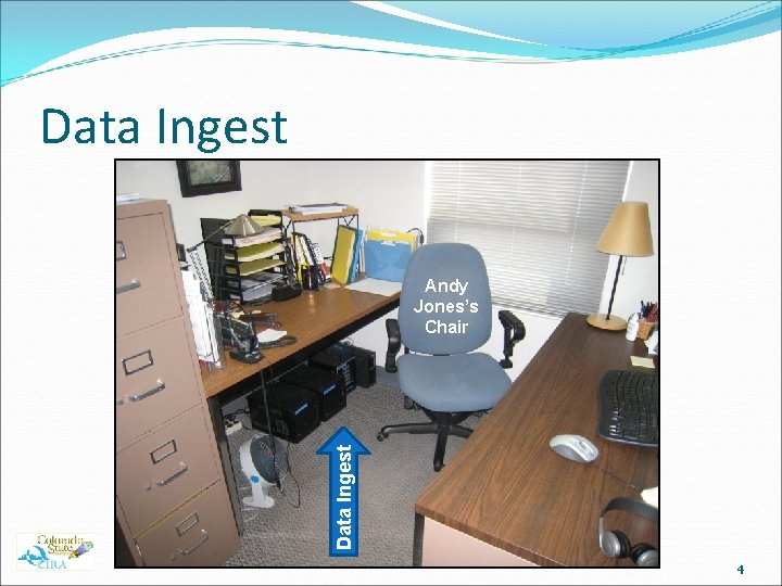 Data Ingest Andy Jones's Chair 4