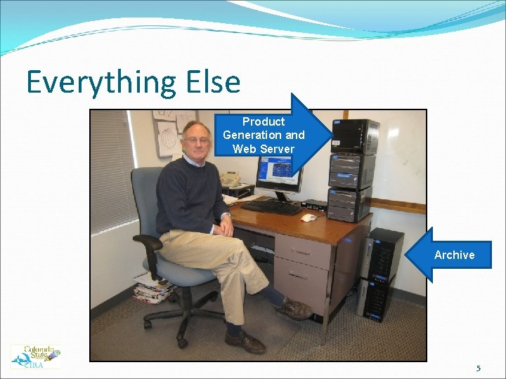 Everything Else Product Generation and Web Server Archive 5