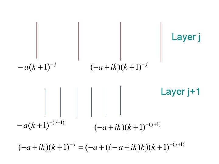 Layer j+1