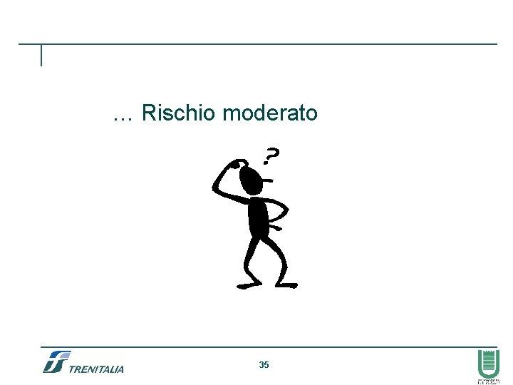 … Rischio moderato 35