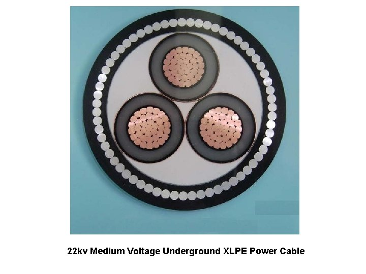 22 kv Medium Voltage Underground XLPE Power Cable