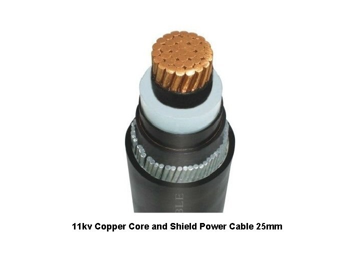 11 kv Copper Core and Shield Power Cable 25 mm http: //jpcable 99. en.