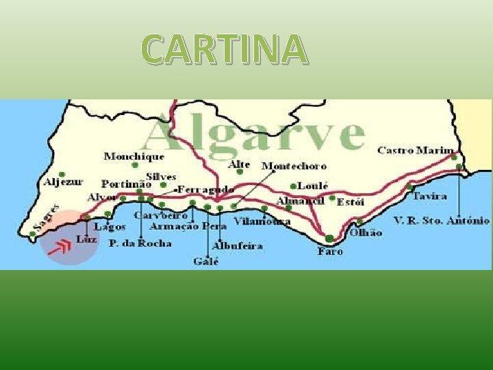 Cartina Del Portogallo Muta.Algarve Portogallo Cartina