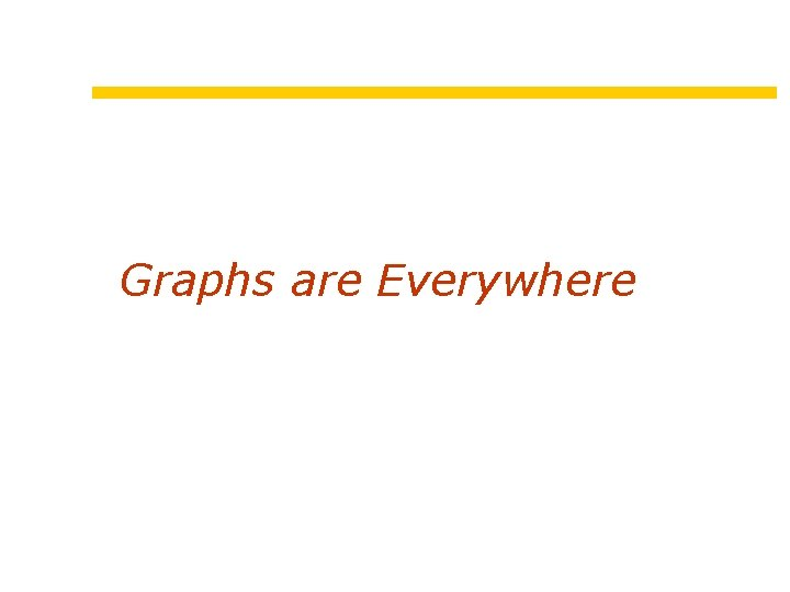 Graphs are Everywhere