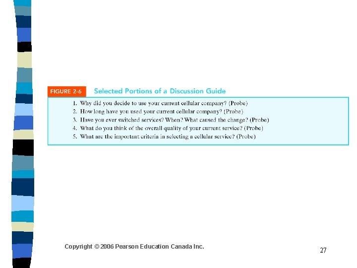 Copyright © 2006 Pearson Education Canada Inc. 27