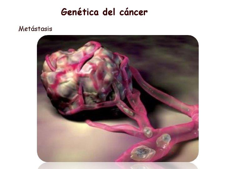 Genética del cáncer Metástasis