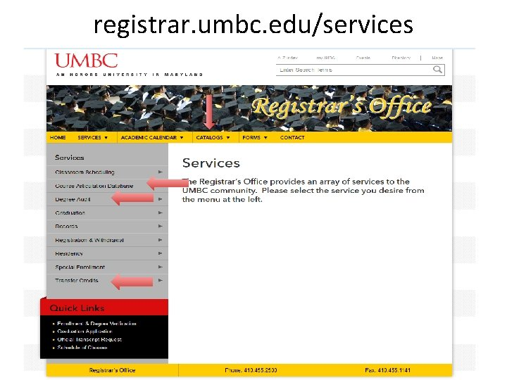 registrar. umbc. edu/services