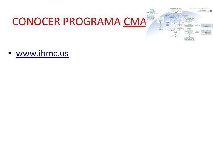 CONOCER PROGRAMA CMAP • www. ihmc. us