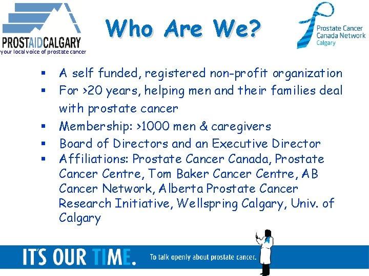 prostate cancer research canada)