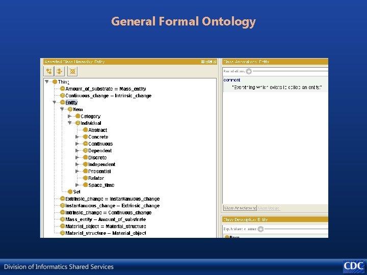 General Formal Ontology