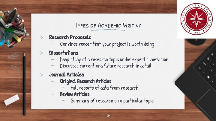 Types of Academic Writing > Research Proposals - Convince reader that your project is