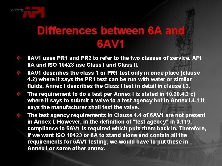 Differences between 6 A and 6 AV 1 v v 6 AV 1 uses