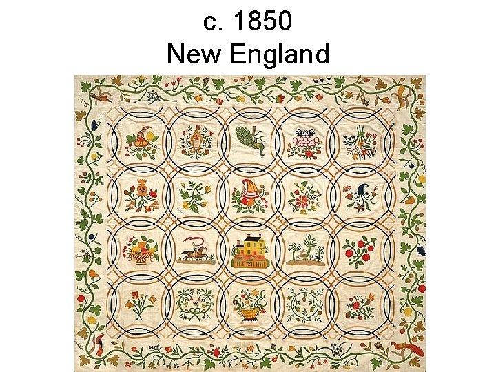 c. 1850 New England