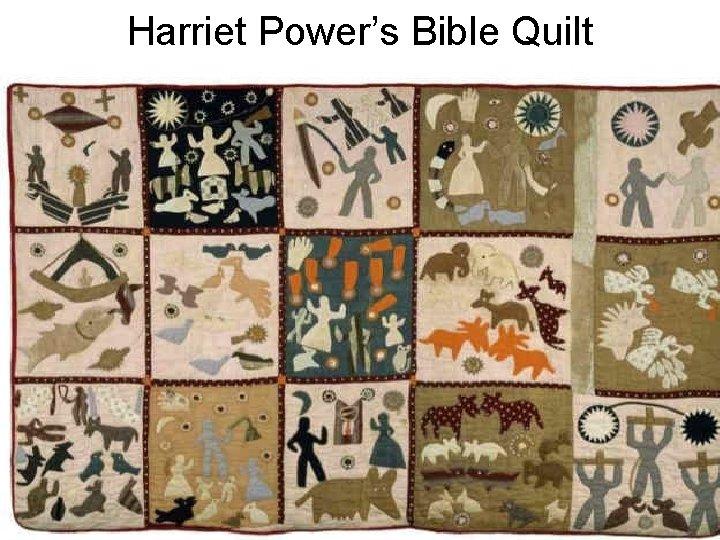 Harriet Power's Bible Quilt