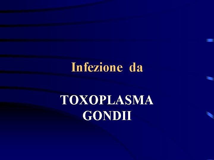 Infezione da TOXOPLASMA GONDII