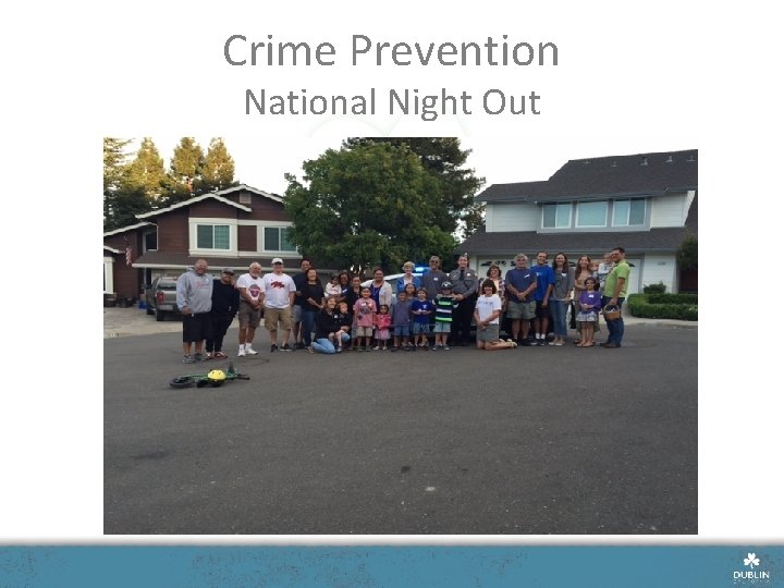 Crime Prevention National Night Out