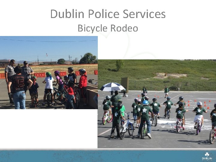 Dublin Police Services Bicycle Rodeo