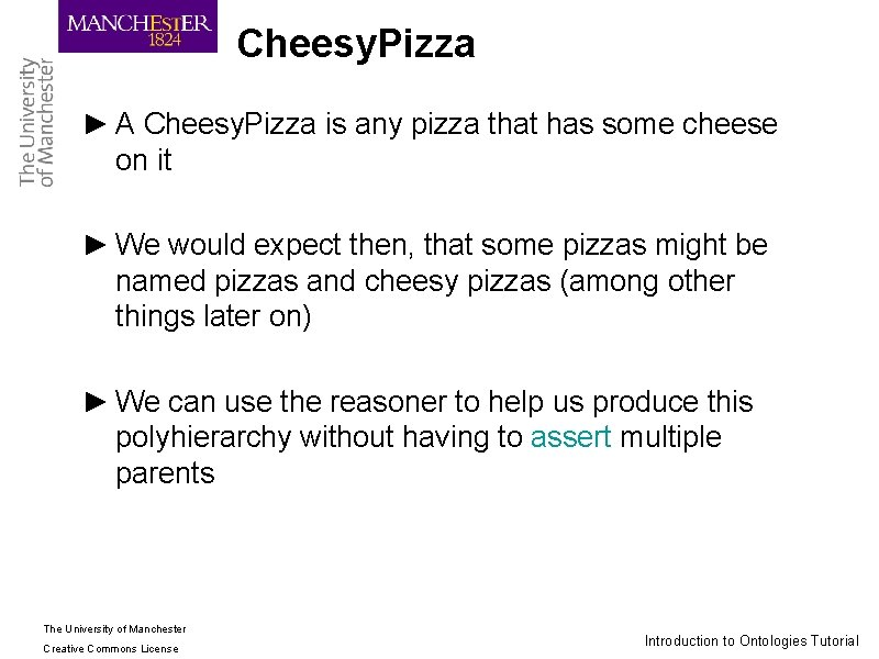 Cheesy. Pizza ► A Cheesy. Pizza is any pizza that has some cheese on
