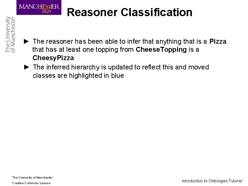 Reasoner Classification ► The reasoner has been able to infer that anything that is