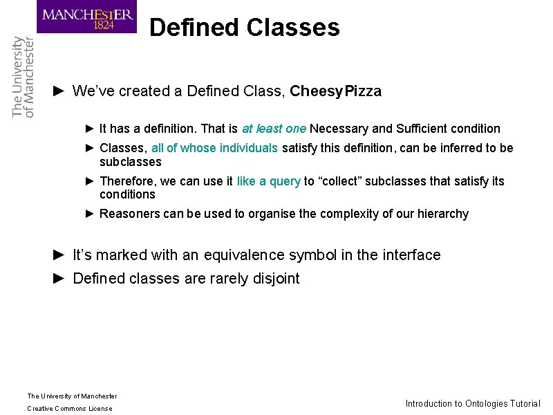 Defined Classes ► We've created a Defined Class, Cheesy. Pizza ► It has a