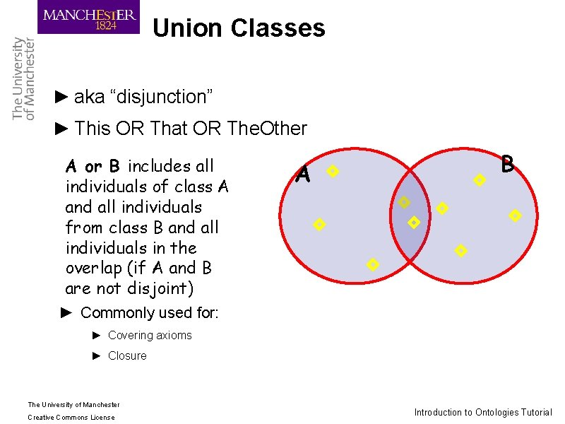 """Union Classes ► aka """"disjunction"""" ► This OR That OR The. Other A or"""