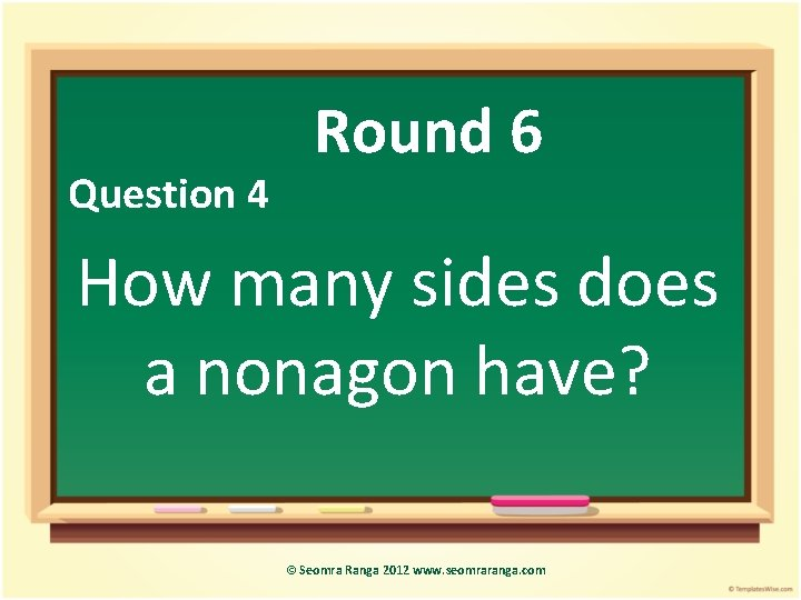 Maths Week Quiz Seomra Ranga 2012 Www Seomraranga