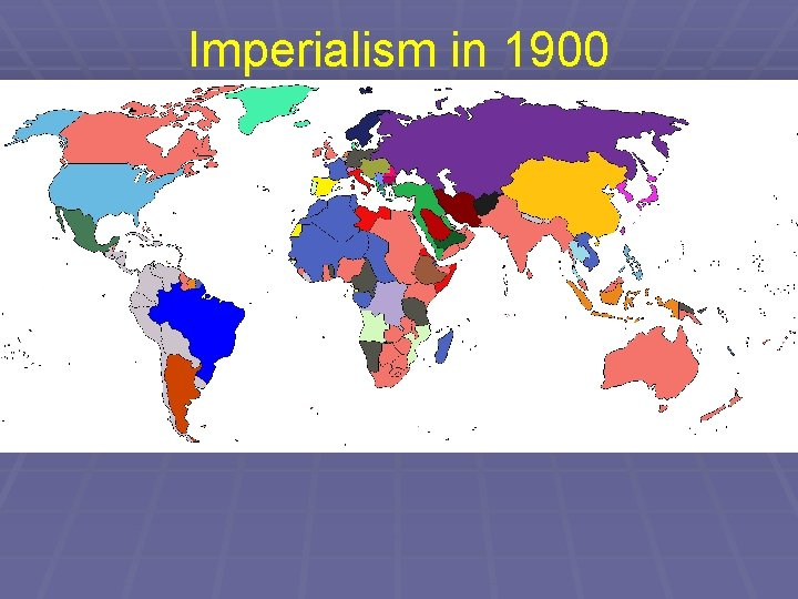 Imperialism in 1900