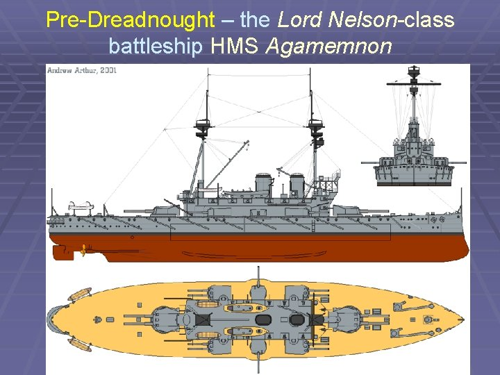 Pre-Dreadnought – the Lord Nelson-class battleship HMS Agamemnon