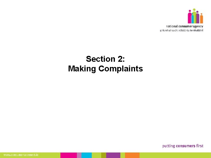 11 Section 2: Making Complaints