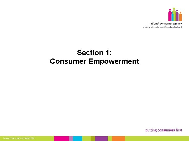 6 Section 1: Consumer Empowerment Making Complaints