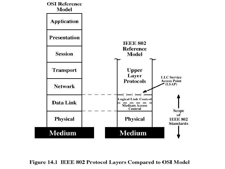 IEEE 802 Protocol Layers