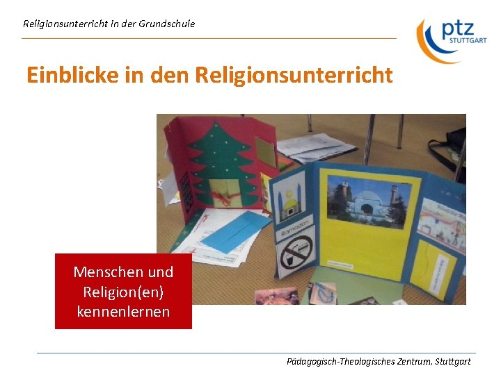 kennenlernen religionsunterricht)