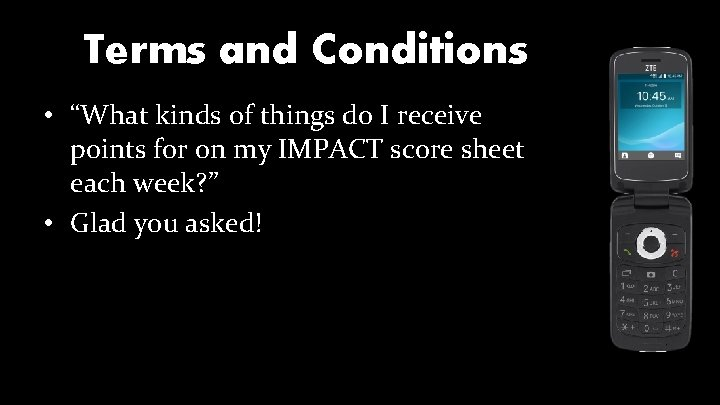 """Terms and Conditions • """"What kinds of things do I receive points for on"""