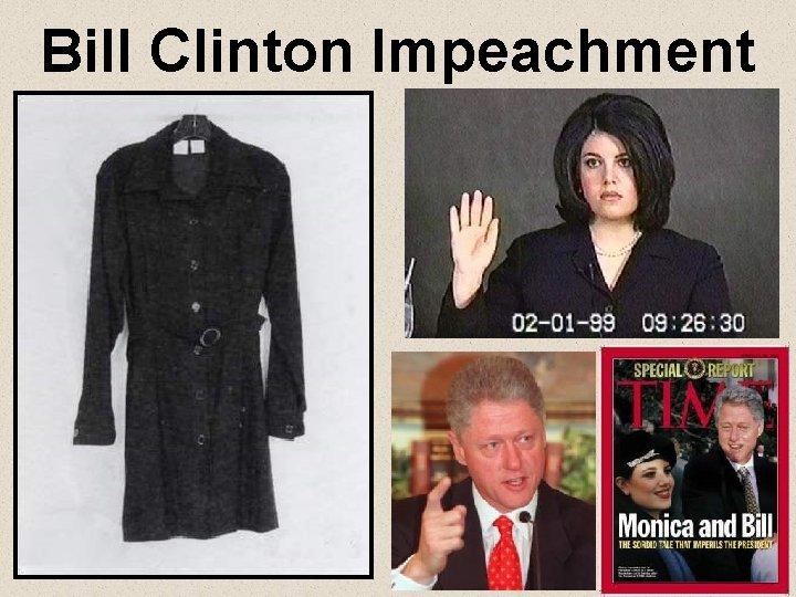 Bill Clinton Impeachment
