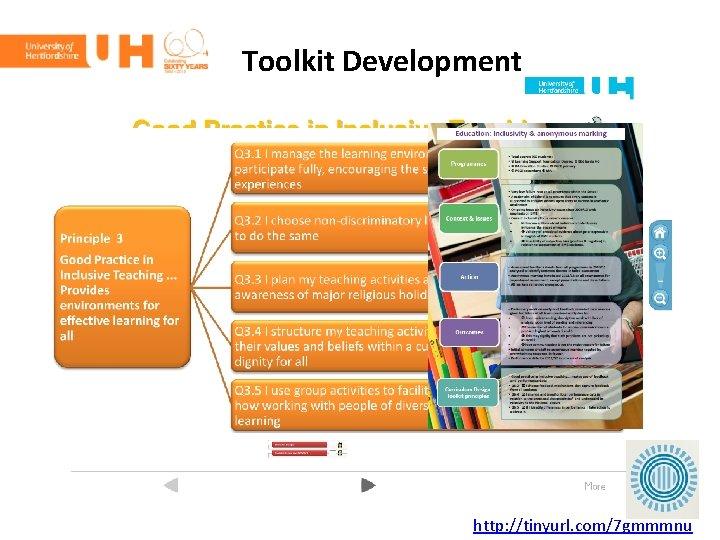 Toolkit Development http: //tinyurl. com/7 gmmmnu