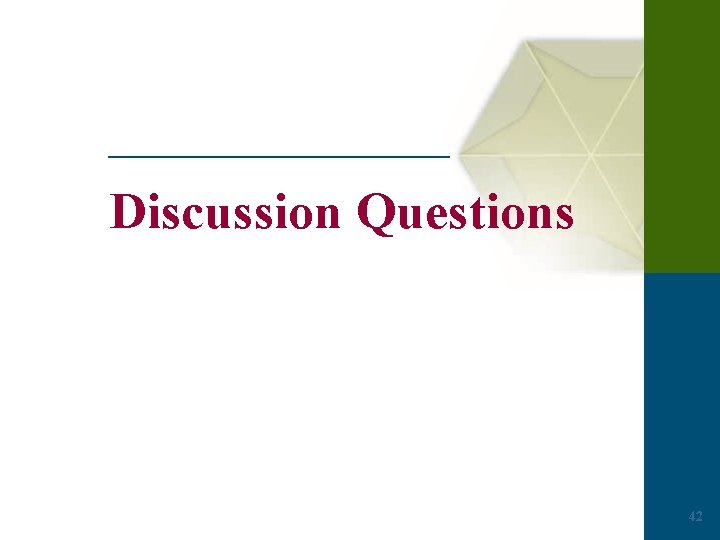Discussion Questions 42
