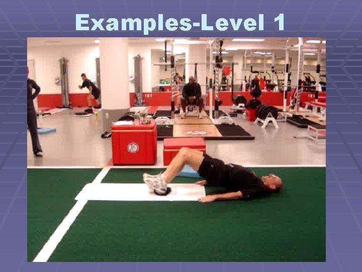 Examples-Level 1