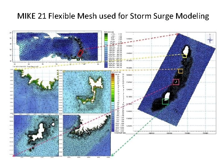 MIKE 21 Flexible Mesh used for Storm Surge Modeling