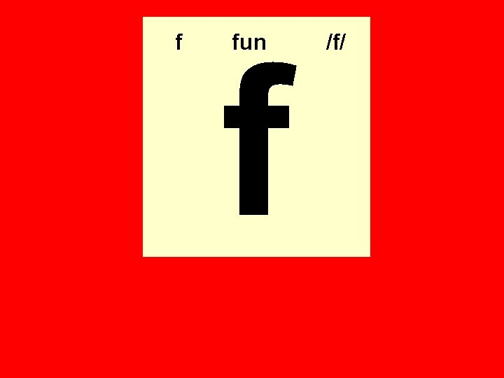 f f fun /f/