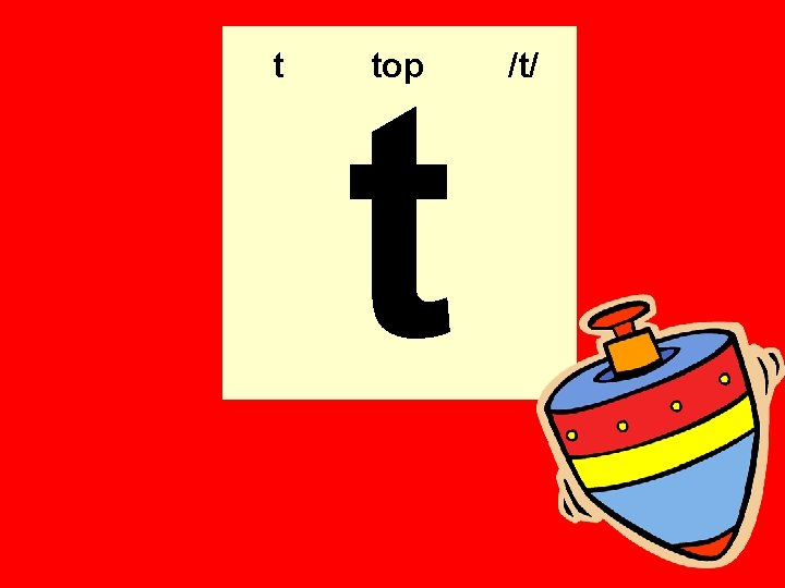 t t top /t/