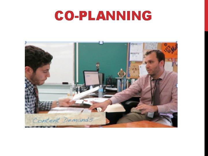 CO-PLANNING