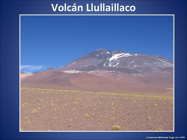 Volcán Llullaillaco Commons wikimedia Page Lion Hirth