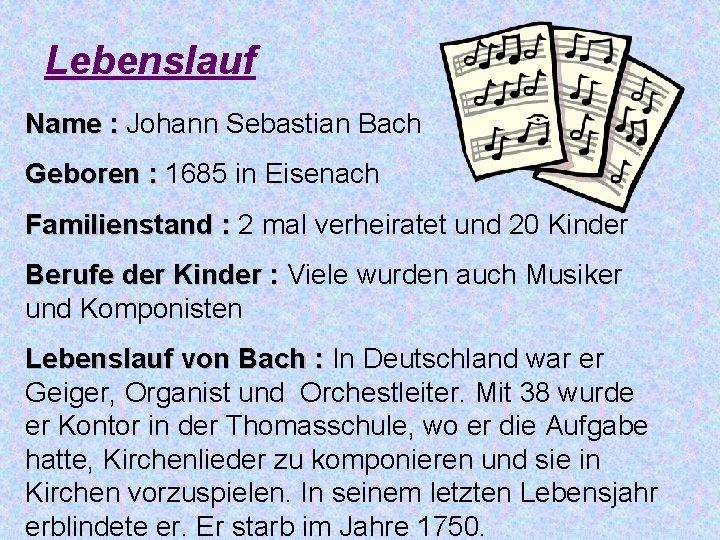 Ppt Johann Sebastian Bach Powerpoint Presentation 6