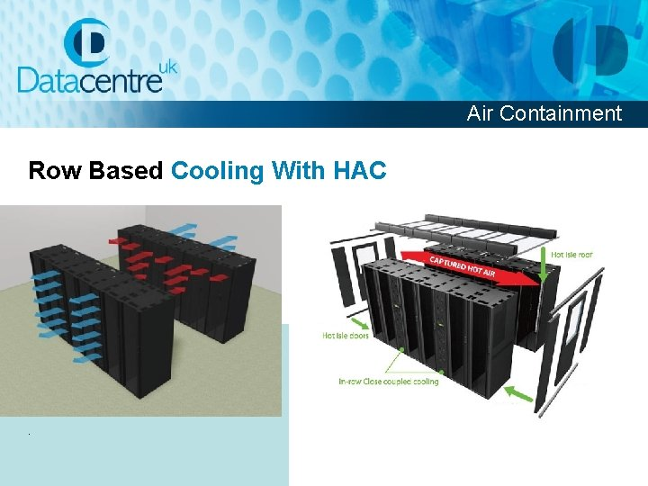 Air Containment Row Based Cooling With HAC .